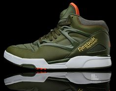 Reebok Pump - lovely color way. Me Too Shoes, Men's Shoes, Shoe Boots, Shoes Sneakers, Tenis Basketball, Sports Footwear, Best Sneakers, Sneaker Boots, Casual Shoes