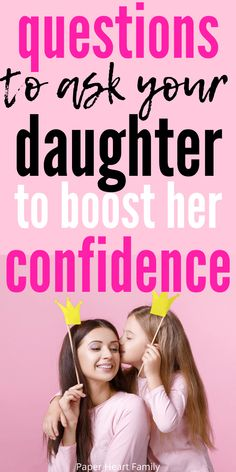 Raising Daughters, Raising Teenagers, Teenage Daughters, Kids And Parenting, Parenting Hacks, Parenting Quotes, Mother Daughter Activities, Kids Questions, Affirmations For Kids