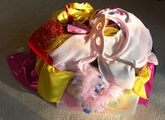 Dress up clothes tutorials-This link goes to all posts tagged dress up box. Magician hat, dance skirts, ballet slippers, masks, crowns, ribbon rings-all sorts of stuff.