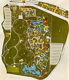 A few from the amazing Roberto Burle Marx, modernist Brazilian landscape artist in late 50s/early 60s. (4 of 5)