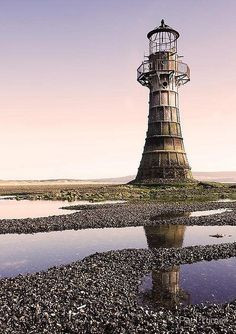 Abandoned lighthouse.