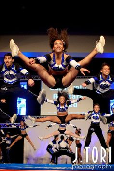 Kiara Nowlin - my inspiration! I knew of her when she was little!!
