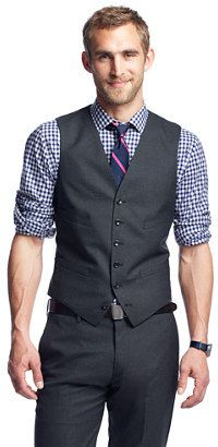 Charcoal Waistcoat by J.Crew. Buy for $135 from J.Crew