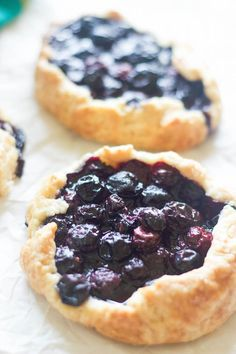 Blueberry Galette - Use Any Fruits Or Filling Of Your Choice | Feed Your Temptations