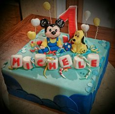 Mickey Mouse cake (first birthday)
