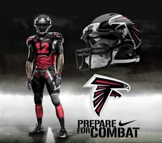Get Ready For A New Nfl Look Now That Nike S Got The Jersey Contract Possible Atlanta Falcons Uniforms From