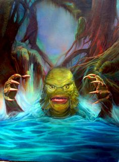 Creature From The Black Lagoon by John Monteleone