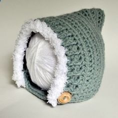 Free pattern for awesome crochet pixie hat! - Its probably for a baby/newborn hat, but you could most likely make it into a bigger hat! http://@Ashley Walters Wagner