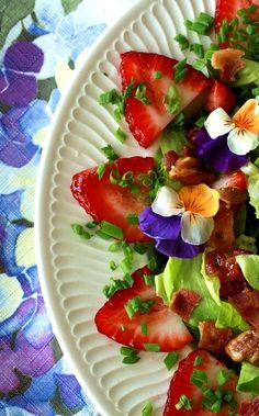 Composed salad~ Garden Party Perfect!:)
