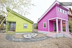 200 Sq. Ft. Pink Tiny Home in Portland, OR | Tiny House Pins