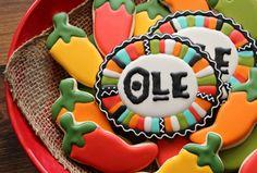 Fiesta Border Cookie Ole - Siempre de la Genial SweetSugarBelle