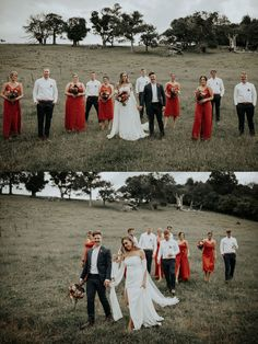 Take a look at Bryce + Brittany by Nikki Deles here! Maxi Dress Wedding, Country Wedding Dresses, Wedding Bridesmaid Dresses, Deep Navy Suit, Bridesmaid Dresses Australia, Before Marriage, Jumpsuit Dress, Australian Beach, Maid Of Honor