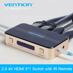 Mini 3 pelabuhan hdmi switcher beralih splitter hdmi port hdmi untuk ps3 ps4 untuk xbox 360 pc dv dvd hdtv 1080 p 3 input ke 1 output