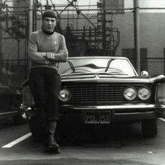 Leonard Nimoy as Spock, Star Trek