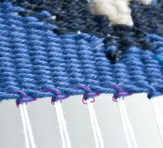 Hem Stitch Finish | The Weaving Loom
