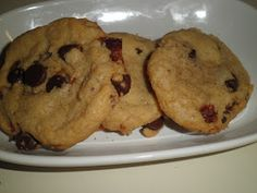Secrets from the Cookie Princess: Candied Bacon Chocolate Chip Cookies