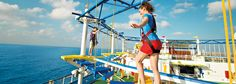 Carnival SkyCourse - A Thrilling Ropes Course Cruise Tips, Cruise Travel, Cruise Vacation, Cozumel, Atlanta Travel, Carnival Cruise Ships, Carnival Breeze, Ropes Course, Bahamas Cruise