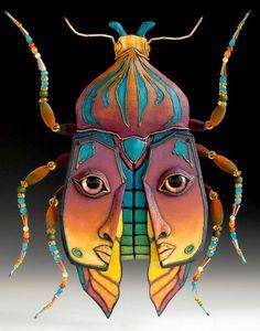 Peoria Art Guild's annual fair celebrates 53 years of fine art - News - Journal Star - Peoria, IL Portrait Photography Men, Portrait Art, Pencil Portrait, Bug Art, Textile Sculpture, Magical Jewelry, Insect Art, Art Nouveau, Polymer Clay Art