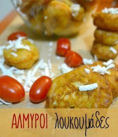 Αλμυροί λουκουμάδες Baked Potato, Baking, Ethnic Recipes, Food, Easter, Bakken, Essen, Easter Activities, Meals