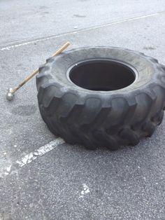 CrossFit & Tire Flippin' I wonder if it will fit in my basement?! lol