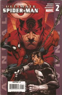 Ultimate Spider-Man _Annual 2 - Read Ultimate Spider-Man _Annual 2 comic online in high quality Ultimate Spider Man, Ultimate Marvel, Marvel Comics, Hq Marvel, Marvel Heroes, All Marvel Characters, Deadpool, Daredevil Elektra, Fictional Heroes