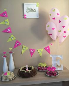 Baby Boy 1st Birthday Party, Bday Girl, Third Birthday, Simple Birthday Decorations, Diy Party Decorations, Safari Party, Ideas Para Fiestas, Holidays And Events, Live