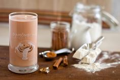 Cinnamon Roll Candle - All Natural Soy Candles By Diamond Candles A ring in every candle. Diamond or CZ