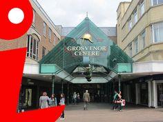 Entrance to the Grosvenor shopping centre