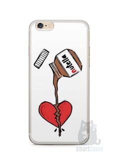 Capa Iphone 6/S Plus Nutella #3 - SmartCases - Acessórios para celulares e tablets :)