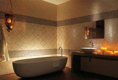 diseno bano moderno 1 Ideas de diseño de baño colorfull