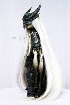 Gargoyle by melenka #bdj #doll #art