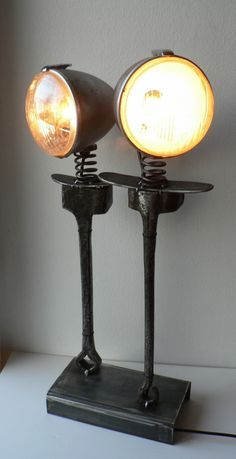 lampe sculpture toi et moi_000♦️More Pins Like This At FOSTERGINGER @ Pinterest