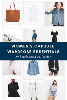 I recently complied an amazing Capsule Wardrobe checklist for Women. I updated some pieces in my closet, and got some new pieces to style with old ones. A capsule wardrobe checklist helped keep me on track with what I needed to refresh and I'm sharing some ideas on how to build capsule wardrobe outfits. Click to learn more. Capsule Wardrobe How To Build A, Capsule Wardrobe Essentials, Wardrobe Planner, Minimalist Wardrobe, Traditional Fashion, Basic Style, Signature Style, New Outfits, Personal Style