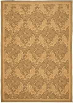 Safavieh Courtyard CY-6582 Gold / Natural (49) Area Rugs