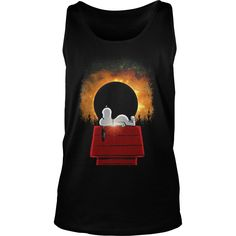 Total Solar Eclipse Snoopy 2017 T Shirt by Teeshirt21.