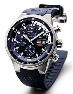 "IWC Aquatimer Chronograph ""Cousteau Divers"" Watch"