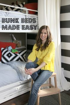 how to dress a bunk bed