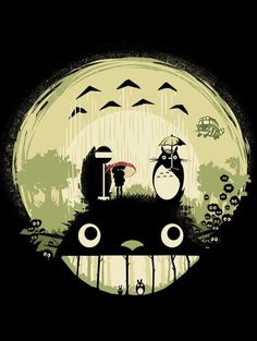 FOREST DREAM T-Shirt $12 Totoro tee at Once Upon a Tee!