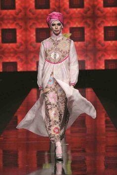 On Indonesian Fashion Show