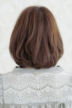 Image result for Brown Short Bob Hairstyles Back View