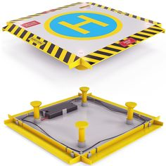 rc helicopter landing pad