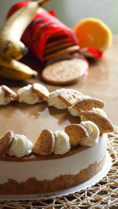 Kakkutaikuri: Banaani-kinuski -juustokakku