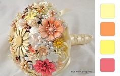 jeweled flower bouquet