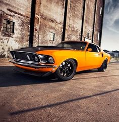 Mustang Muscle Car!