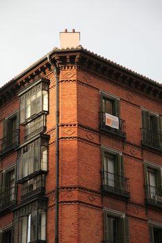 along the Gran Via, Madrid