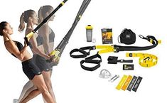 New TRX TRX All In One Home Gym Bundle: Includes All-In-One Suspension Trainer, Indoor & Outdoor Anchors, TRX XMount Wall Anchor, 4 Exercise Bands & Shaker Bottle online shopping - Topbrandsclothing Home Gym Equipment, No Equipment Workout, Workout Gear, Gym Workouts, Trx Trainer, Gym Resistance Bands, Assisted Pull Ups, Suspension Trainer