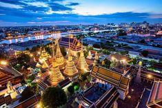 Top Honeymoon Destinations, Thailand Destinations, Thailand Honeymoon, Honeymoon Packages, Bangkok Thailand, Grand Palace Bangkok, Honeymoon Inspiration, Wat Pho, Thai Art