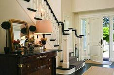 another white foyer