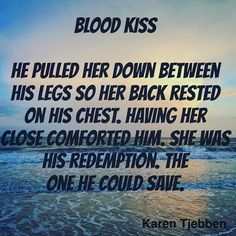 Blood Kiss is a romantic thriller about a woman's attempt to protect herself from a stalker. Alisha knows she has to go on the offensive if she wants to survive. Lucky for her, she meets Mike, a man who needs to help her as much as she needs the help.http://www.amazon.com/Karen-Tjebben/e/B00F1VIJKQ