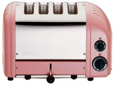 Kitchen ~ small appliances ~ 4-slot toaster in pink